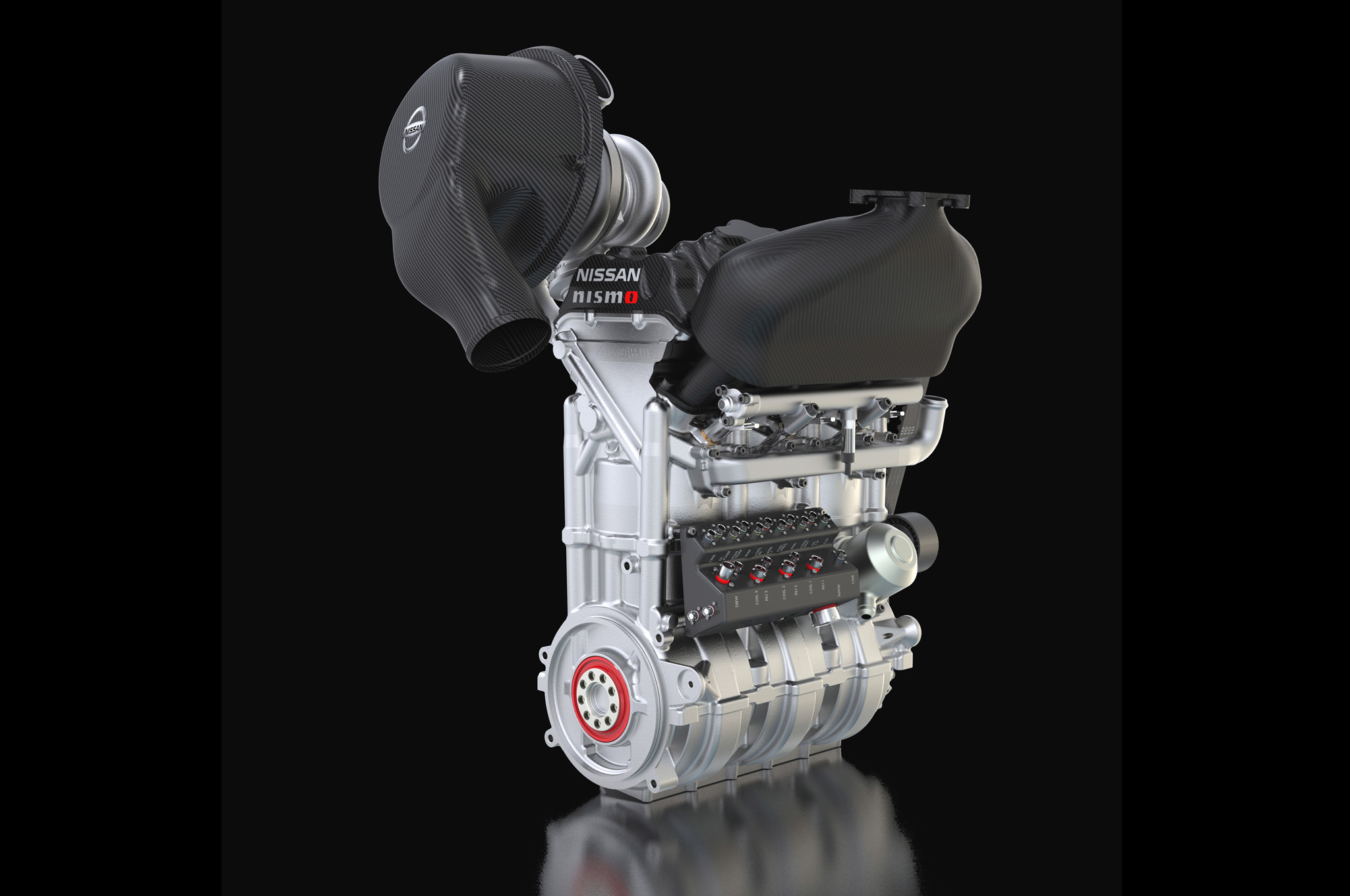 Nissan ZEOD-RC Engine via Motor Trend